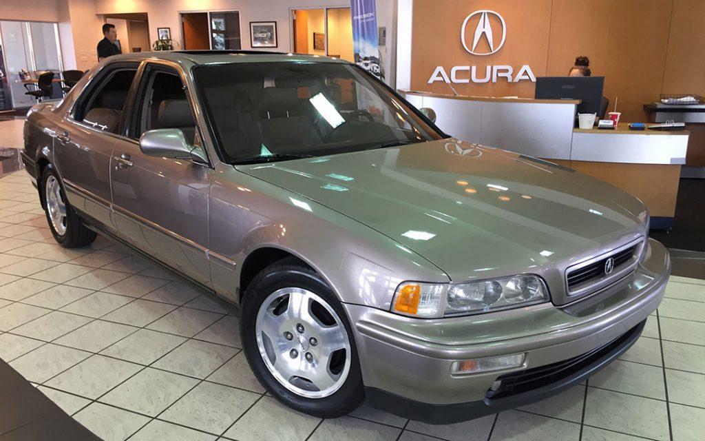 Tyson Hugie's 1994 Acura Legend