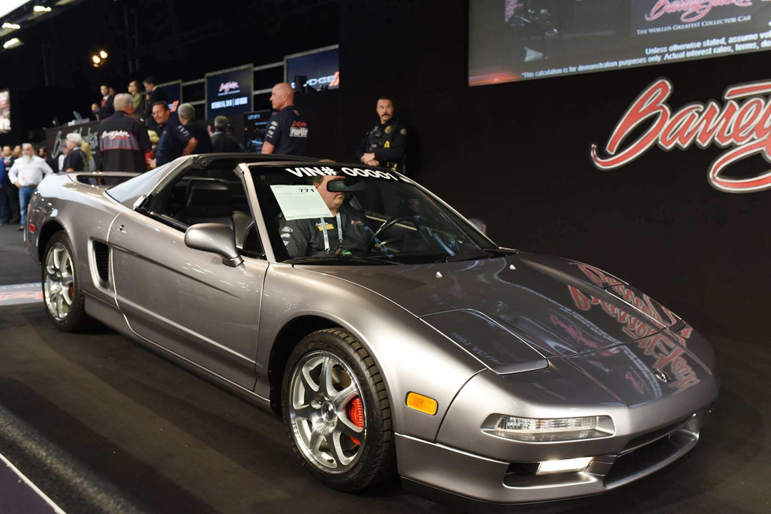 2001 Acura Nsx T Vin 00001 Sells For 90000 Usd Acura