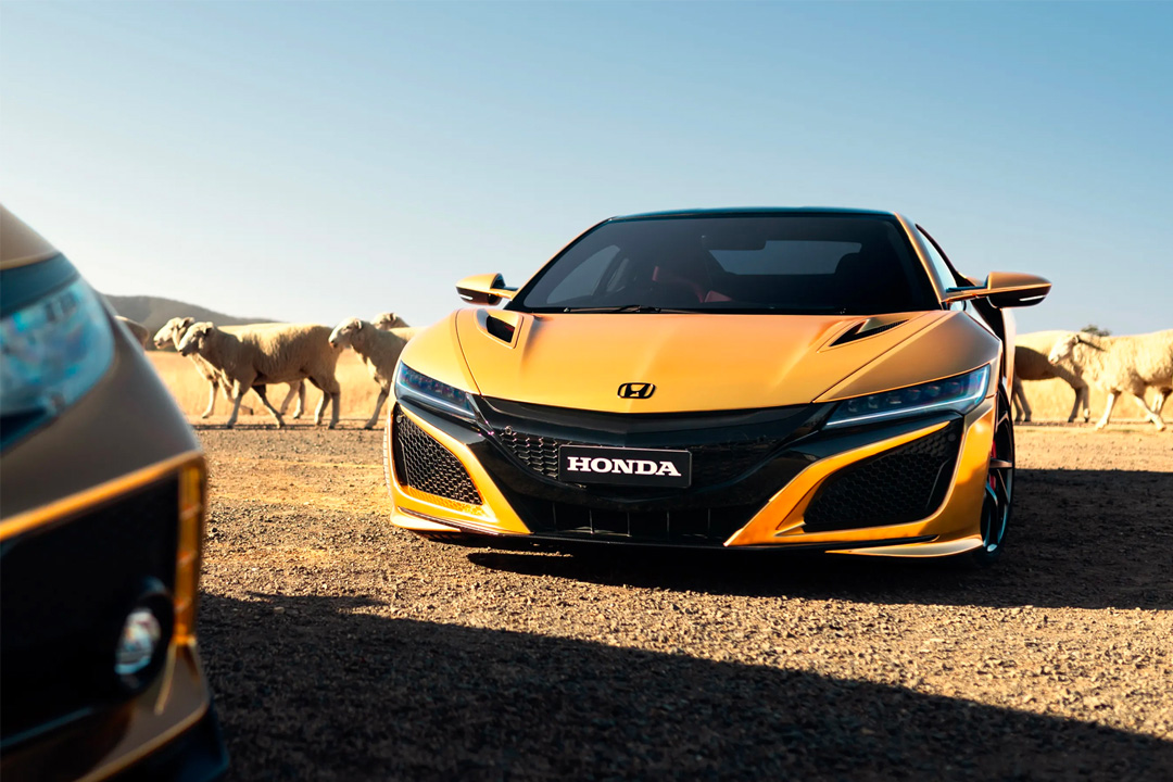 Honda Celebrates 50 Years In Australia With Golden Nsx Acura Connected