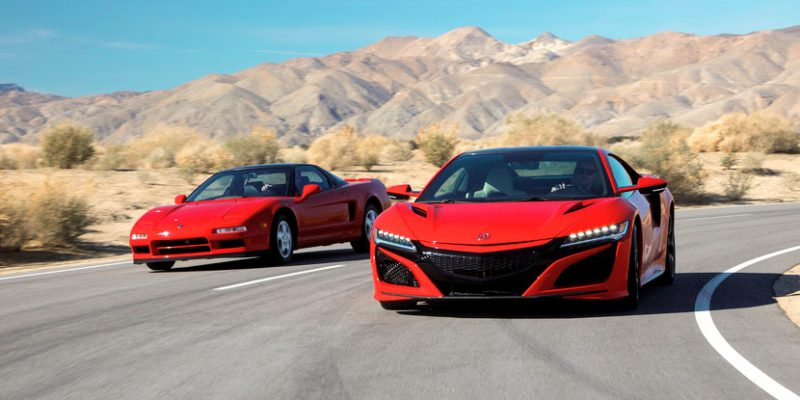 Celebrating 30 Years of the NSX