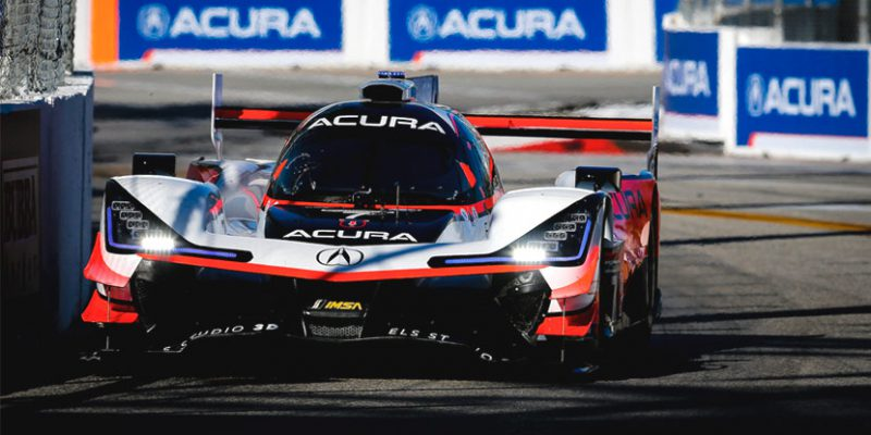 Double Podium Finishes for Acura Team Penske at Long Beach