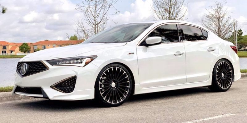 2019 Acura ILX A-Spec with Mugen MDC Wheels