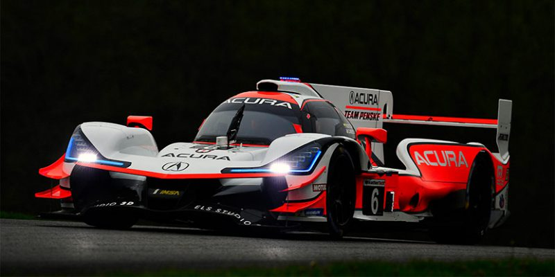 Acura Team Penske Repeats at Mid-Ohio
