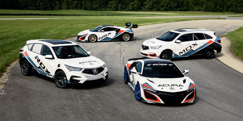 Five Acura Entries at the 2019 Pikes Peak International Hill Climb