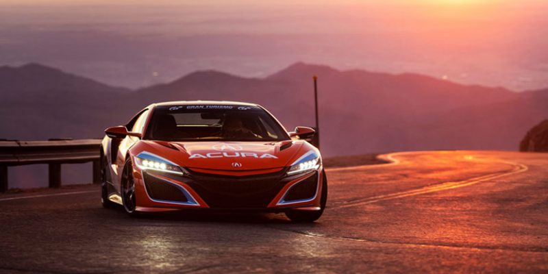 Acura NSX Sets the Pace at Pikes Peak 2019