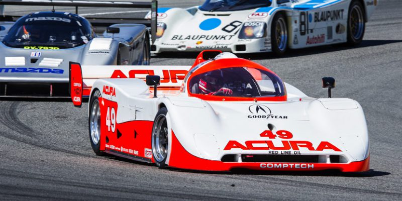 Acura to Salute Racing Heritage at Monterey Motorsports Reunion