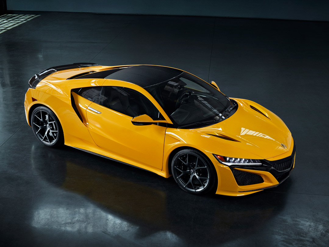 2020 Acura Nsx To Debut Indy Yellow Pearl At Monterey Car