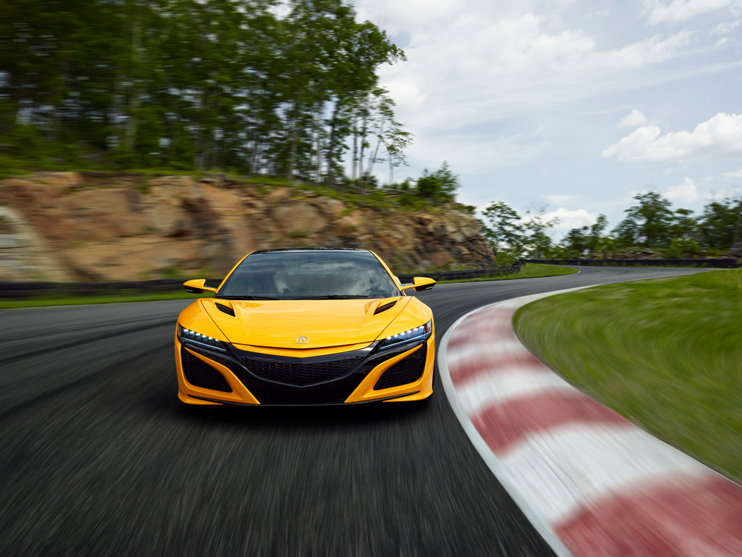 2020 acura nsx to debut indy yellow pearl at monterey car week  u2013 acura connected