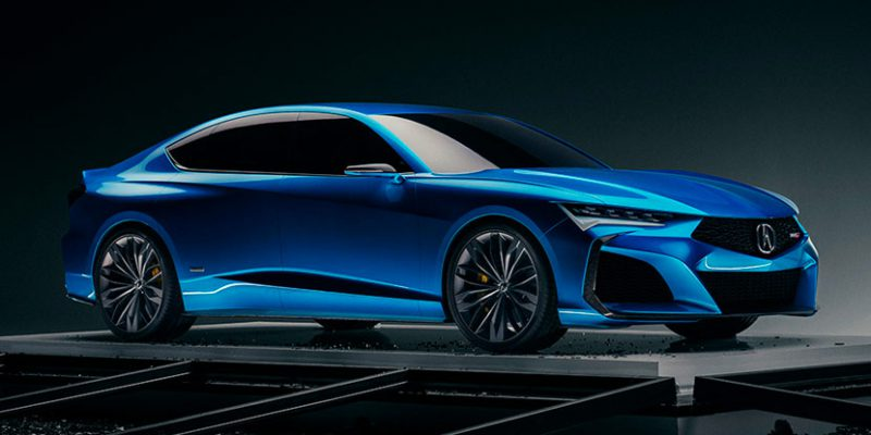 Acura Type S Concept Debuts in Monterey