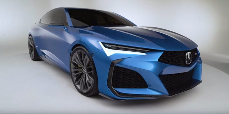 video acura type s concept – first look – acura connected