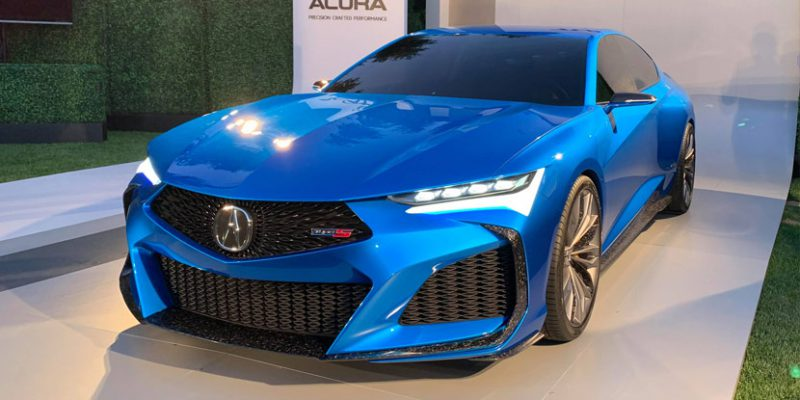 Acura Type S Concept Debut in Monterey