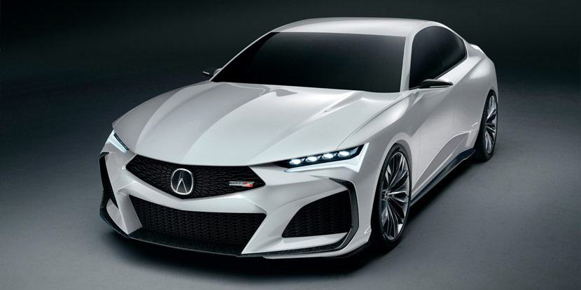 Acura Type S Concept with Color options