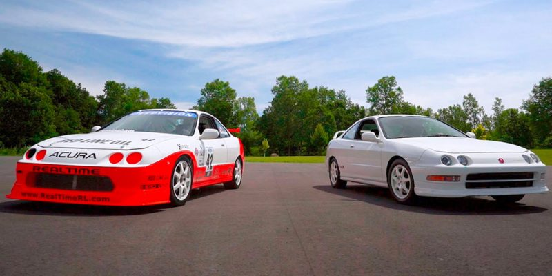 Integra Type R Racecar Screams Back to the Track at 9,000 rpm