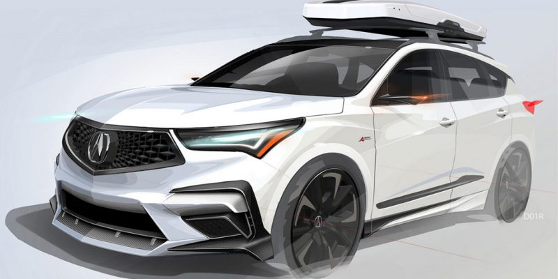 2020 RDX A-Spec at SEMA
