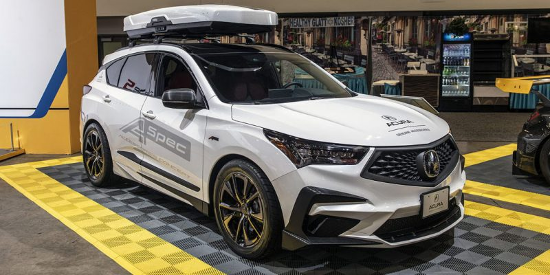 2020 Acura RDX at SEMA | via Autoblog