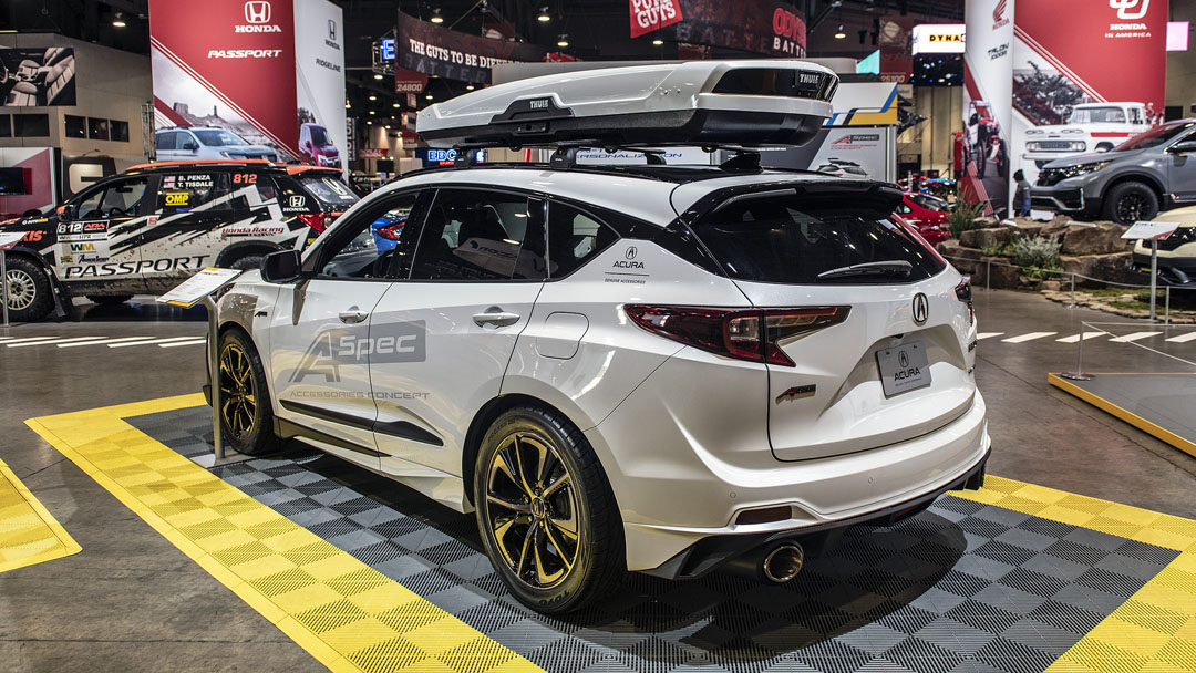 2020 Acura Rdx With Concept A Spec Accessories At Sema Acura Connected