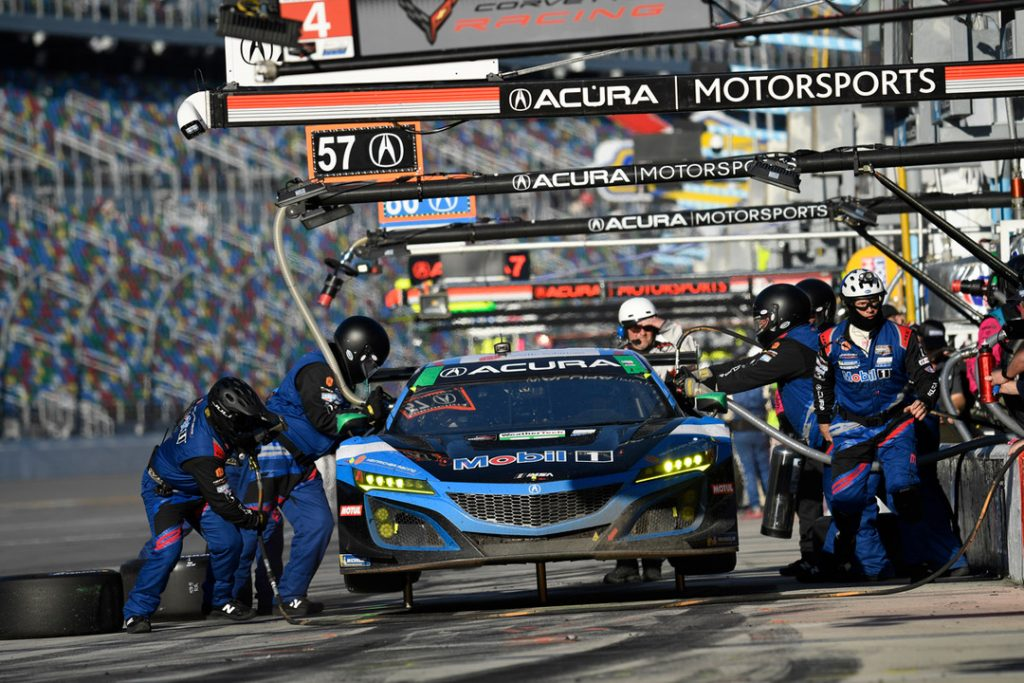 Acura Team Penske Nets Fourth-Place Finish at Rolex 24