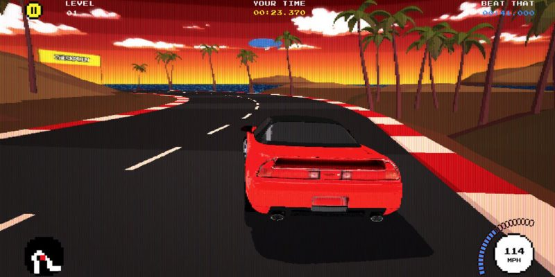 "Acura ""Beat That"" Mobile Racing Game"