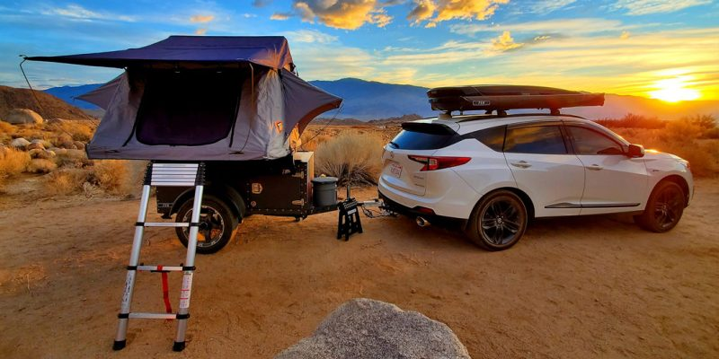 Camping with the Acura RDX | Photo: JD Senna