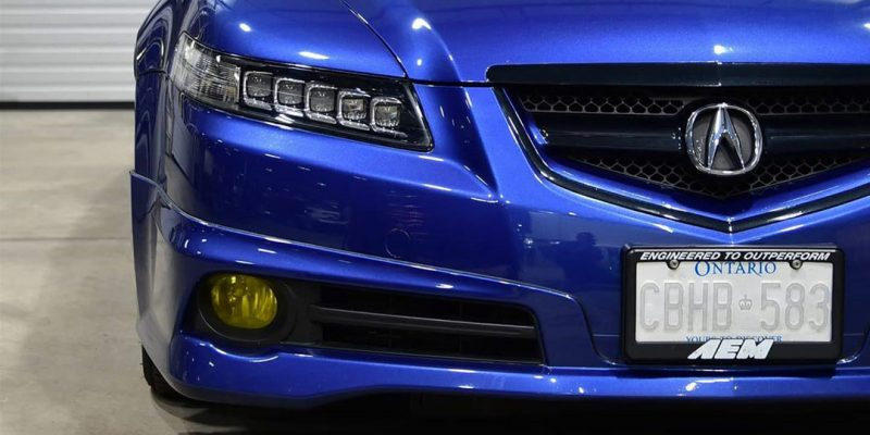 Jewel Eye Headlights on a 2008 Acura TL Type S
