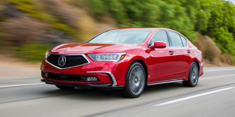 Acura RLX Discontinued