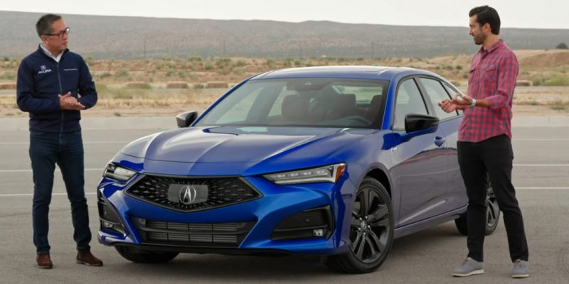 Video: 2021 Acura TLX with Jon Ikeda