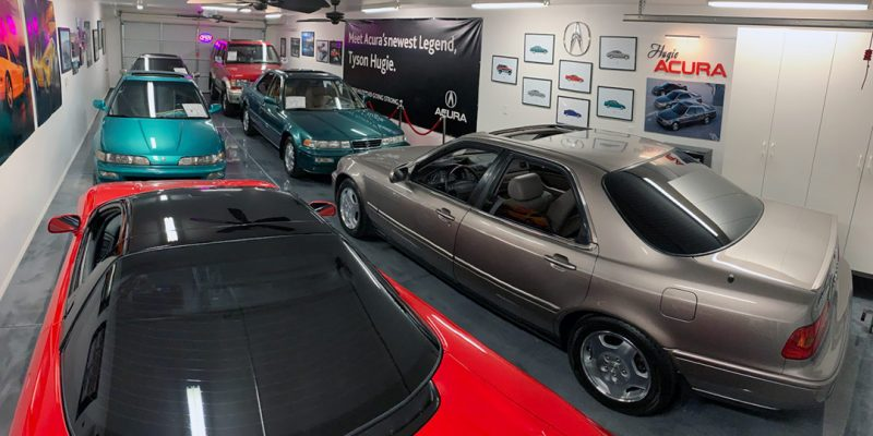 "Tyson Hugie's Ultimate Acura ""Showroom"" Garage Tour"