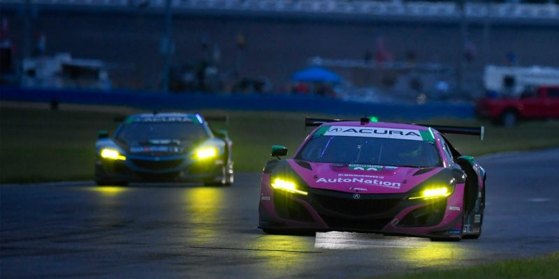 Meyer Shank Racing, Acura NSX GT3 Evo Claim Podium Finish at Daytona