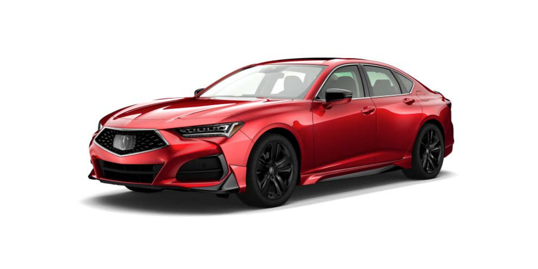 2021 TLX with Acura Genuine Accessories