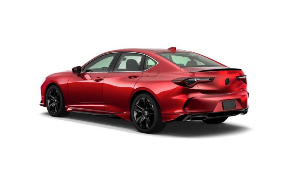 2021 Acura TLX Genuine Accessories