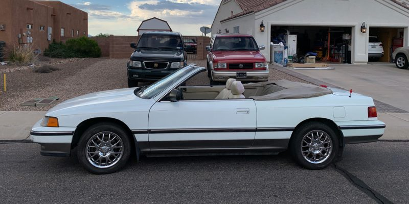 1988 Acura Legend Coupe Convertible