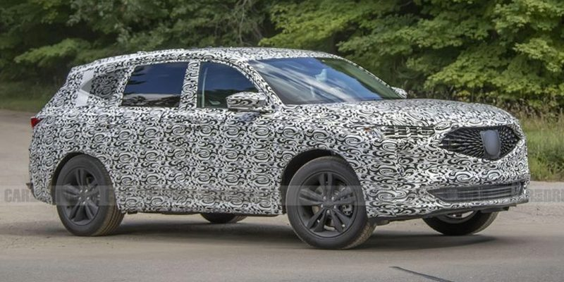 2021 Acura MDX Spy Photos