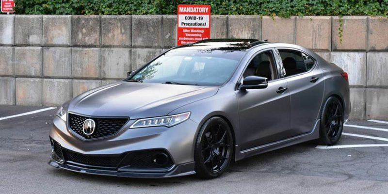 #deletethebeak 2015-2017 Acura TLX Custom Grille