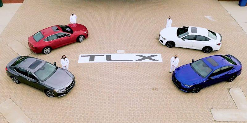 Production of 2021 Acura TLX Sport Sedan Begins