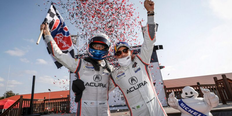 Acura Wins at Mid-Ohio