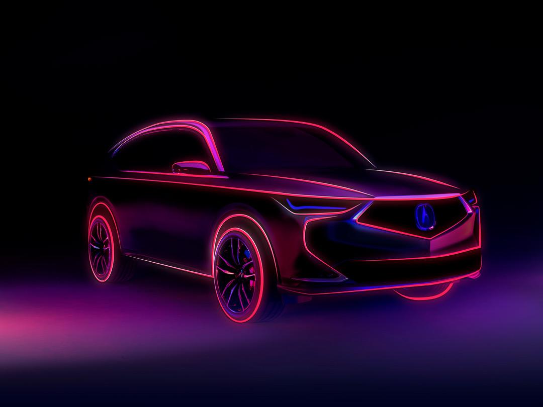 Next-Generation Acura MDX Prototype