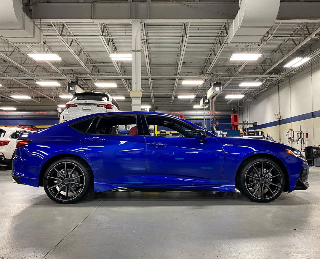 Gallery 2021 Acura Tlx With Accessories And 20 Vossen Wheels Acura Connected