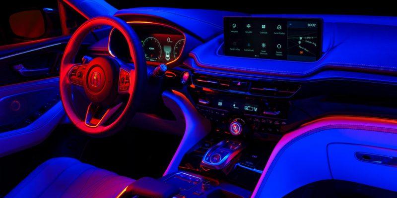 Fourth-generation Acura MDX Interior