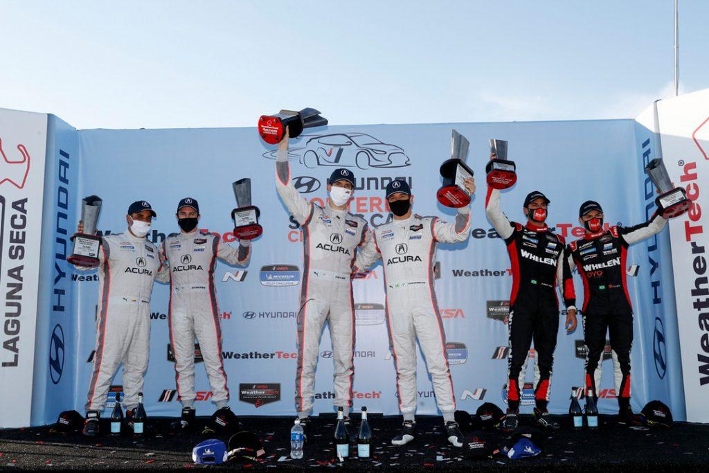 Acura Wins at WeatherTech Raceway Laguna Seca