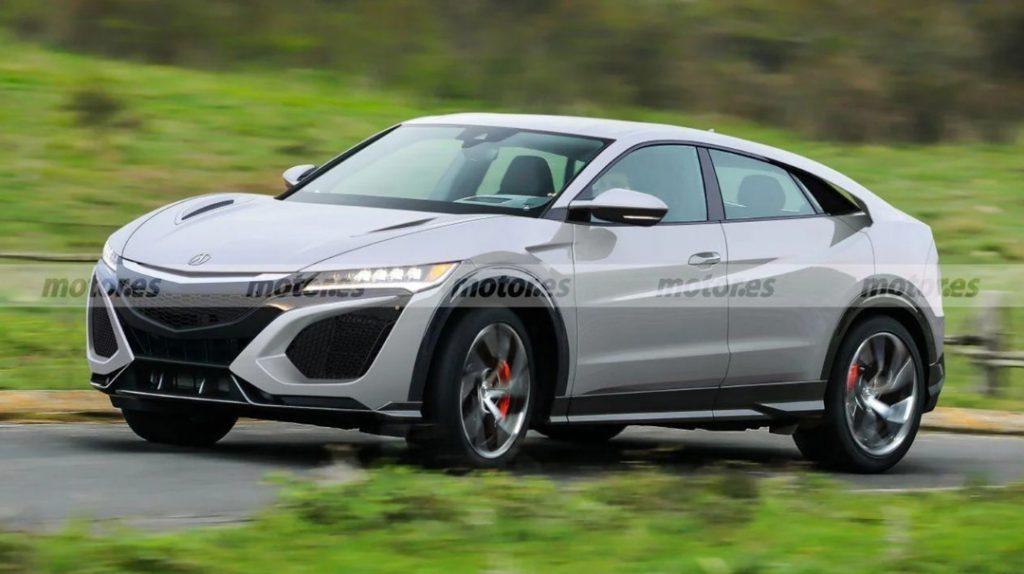 Acura/Honda NSX Crossover | Rendered by Motor.es
