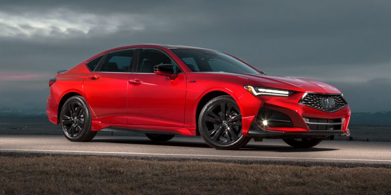 2021 Acura TLX A-Spec with Genuine Accessories