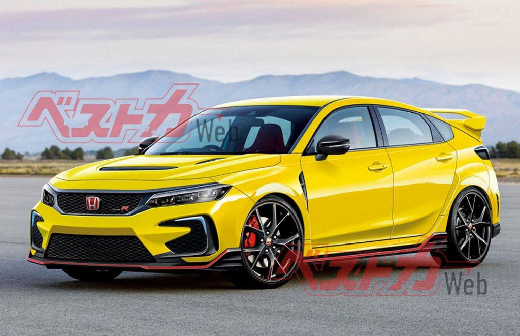 Next Generation Honda Civic Type R Hybrid | BestCar Web