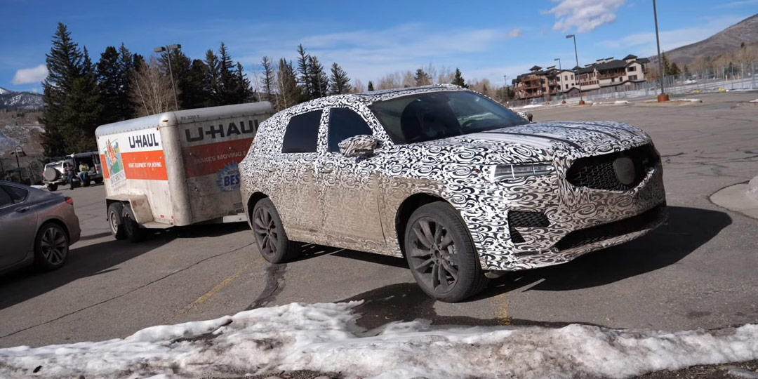 Spied: 2022 Acura MDX and TLX Type S Prototypes