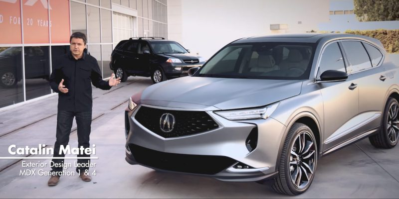 Acura MDX Design – Then and Now