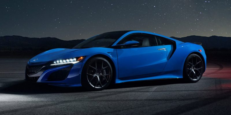 Long Beach Blue Pearl 2021 Acura NSX