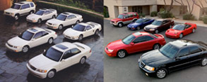 Acura-ddicted: Owning an Entire Late 1990s Acura Fleet