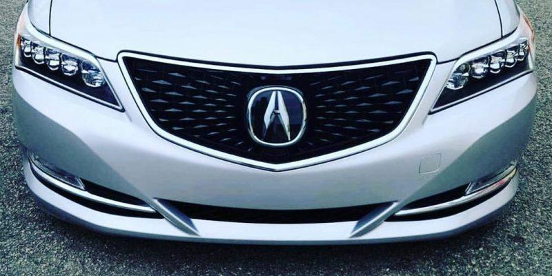 "Acura RLX ""Delete the Beak"" Custom Grille"
