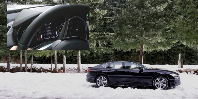 2021 Acura TLX Advance Review + Snow & Sand