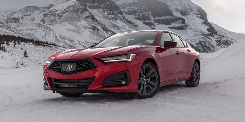 Mountain Adventures with the 2021 Acura TLX A-Spec