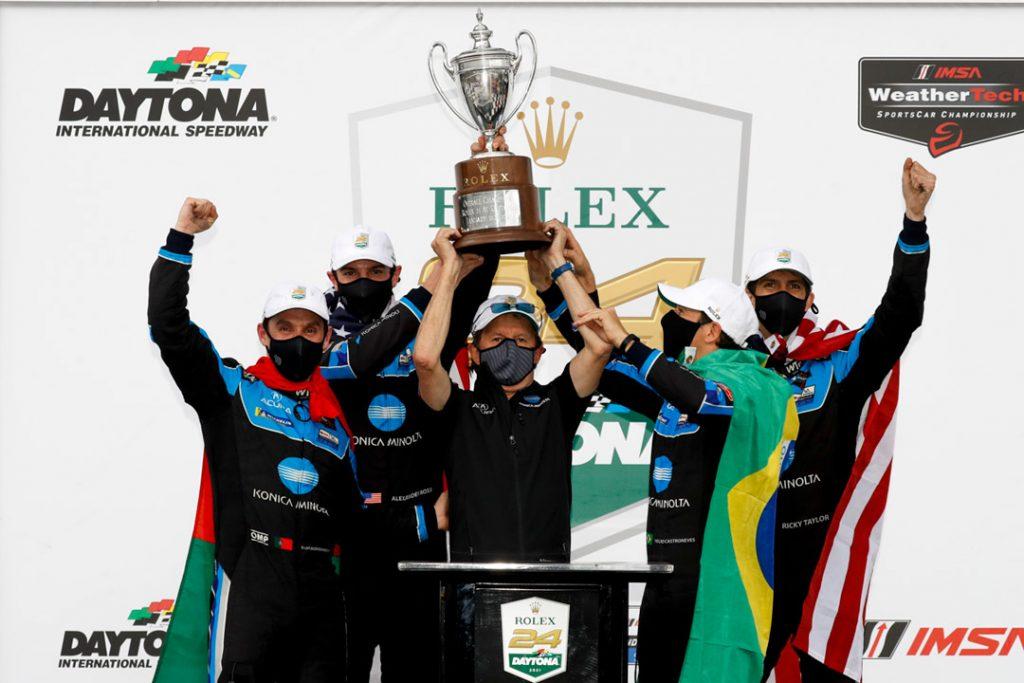 Acura Wins IMSA Rolex 24 at Daytona